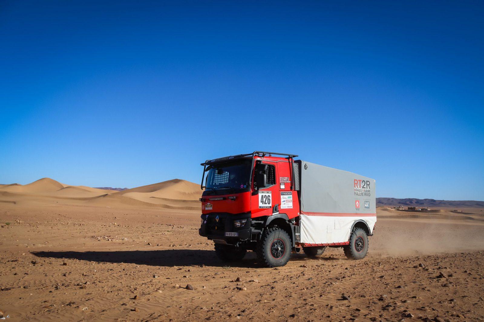 image illustration article Participer à des rallyes avec son propre camion de course : un rêve devenu réalité !