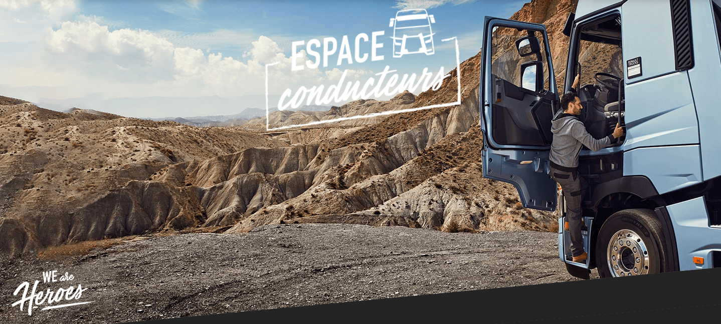 image illustration article L'Espace Conducteurs Renault Trucks : Apprendre et se divertir le temps d'une halte